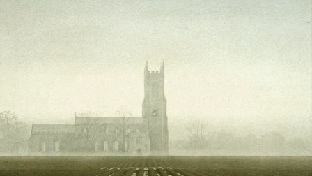 Salle Church, water colour by Gerard Stamp. Pictured: Supplied by Alison Young