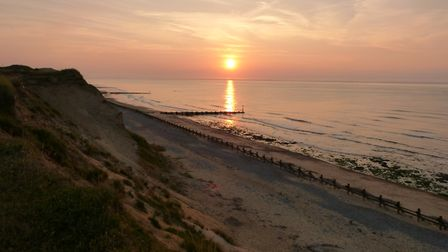 Stunning day at West Runton. Picture: Catherine Askew
