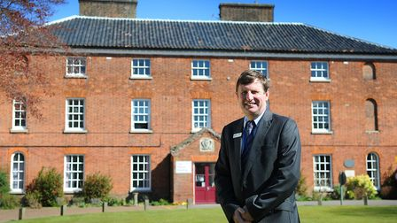 Kevin Grieve, principal of Paston College, North Walsham.PHOTO: ANTONY KELLY