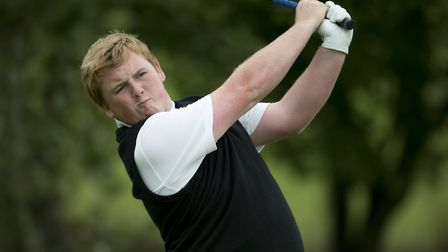 Jack Yule only managed half a point for Norfolk at Royal Cromer on Sunday. Picture: Leaderboard Phot