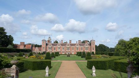 Blickling Hall early morning. Picture: Dinah Goom