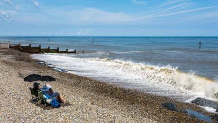 By the sea at Sheringham. Picture: David Brooker