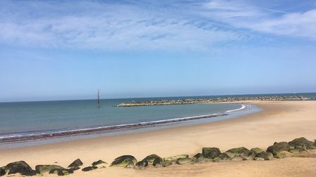 Stunning day on the beach at Sea Palling. Picture: Inga Hinsley