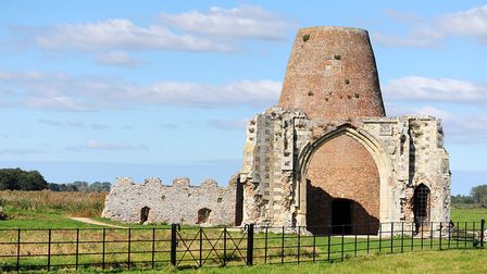 St Benets Abbey. Picture: James Bass