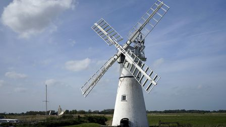 Thurne Windpump on the banks of the River Thurne. Picture: MARK BULLIMORE