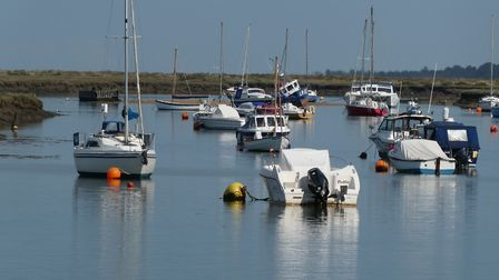 Boats at East Quay Wells-Next-The-Sea