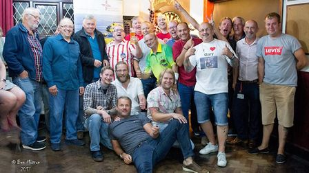 PDC darts star Darren Webster lends his support to a big charity darts night in Sheringham. Turn ins