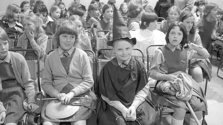 Youngsters taking part in the Cromer & North Norfolk music festival, May 1974. Picture: Archant Libr