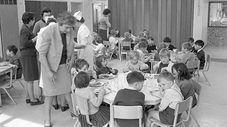 Opening of new infants school at Suffield park - Cromer pic taken 26th April, 1968. Picture: Archant