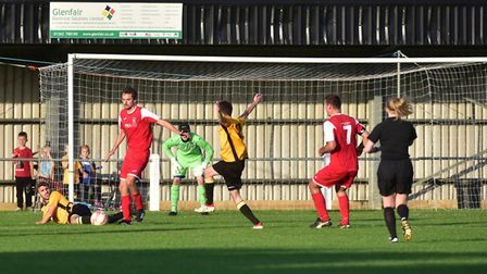 Fakenham Town managed to field a side with players from the reserves, Under 18's, Youth Team Coaches