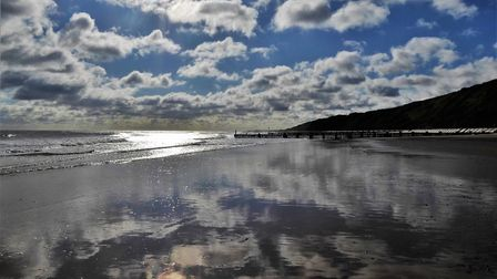 Beautiful Mundesley beach. Picture: Nadine Gray