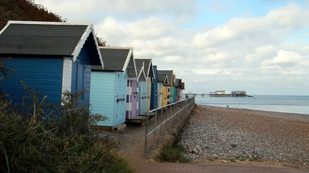 A lovely walk along the beach from Overstrand ending at Cromer. Picture: Jason Whichelow