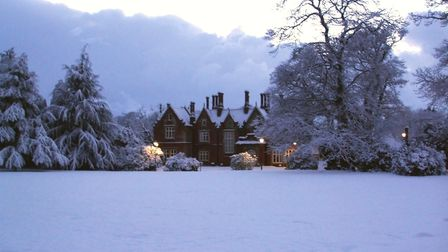 Holt Hall will be hosting a Christmas fair. Picture: Sally Stanton.