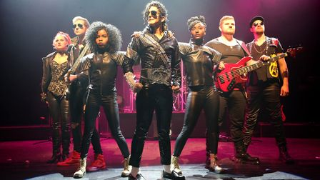 Michael Jackson tribute act Ben, who will be perfoming at Cromer Pier on October 28. Photo: SWEENEY