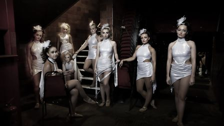 Dancers at the Hippodrome, by photographer David Morris, whose work is featured in an exhibition at
