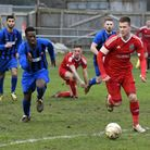 Jon Fairweather was on target for Wisbech in midweek. Picture: Archant