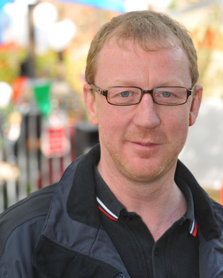 Blur drummer Dave Rowntree, who will be switching on the Christmas lights at North Walsham on Novemb