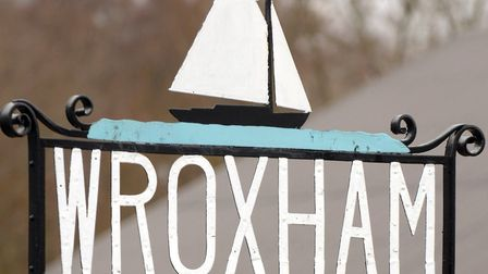 Two TVs were stolen in a burglary. Picture shows the Wroxham sign.