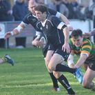 Bruce van Poortvliet about to score against Crusaders. Picture: Stuart Young
