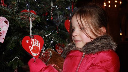 Aylsham Christmas tree festival, which will be running at the parish church until December 30. Photo