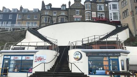 Is this Cromer wall the right place for a mural? Photo: Antony Kelly
