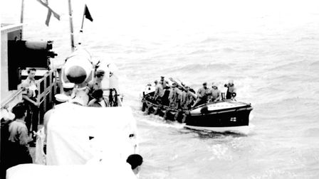 A Cromer Miscellany. Rescue at sea by Cromer lifeboats after town councillors had been stuck overnig