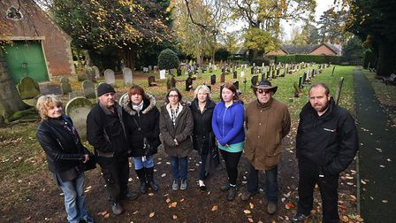 Personal belongings have been removed from graves at North Walsham Cemetery leaving grieving relativ