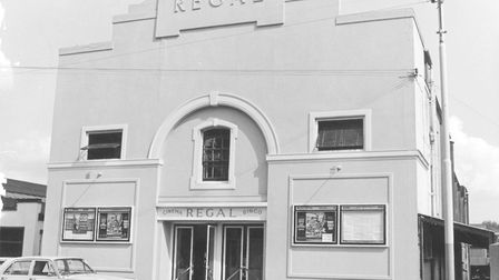 Places -- N The Regal Cinema at North Washam was the town's second cinema (the original Picturedrom
