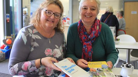 Liz Withington and Janet Eastwood of Sheringham Dementia Friendly Community group, which has just re
