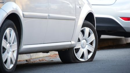 Earlier this month the tyres of 28 cars were slashed in 10 Lowestoft roads. Picture: ANTONY KELLY