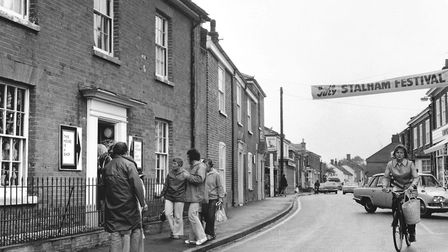 The Street at Stalham, during the Stalham Festival in 1973. Picture: Archant library
