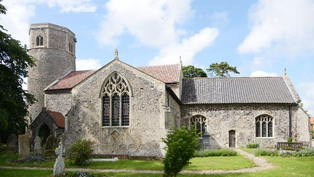 St, Andrew's Church in Great Ryburgh has been given a Heritage Lottery Fund grant. Picture: Ian Burt