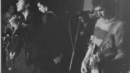 The Sex Pistols played their second-last gig at The Links in Cromer, in 1977. Photo by Richard Brook