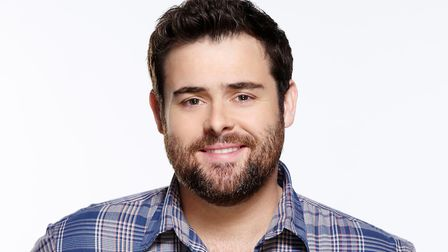 David Fynn, who starred in School of Rock in London and will be the voice of the Wizard in Sheringha