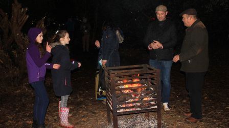 Soaking up the atmosphere at the Enchanted Felbrigg event. Photo: KAREN BETHELL