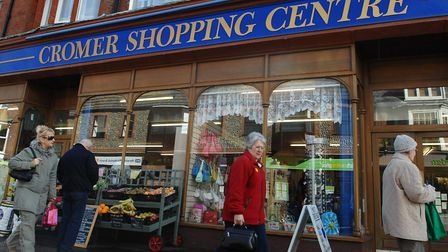 Shop Local in CromerGood places to eat around the townCromer Shopping CentrePicture: James BassCopy:
