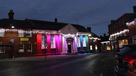 Aylsham looking very festive. Picture: Lizzie Dawes