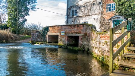 Old water mill at Sculthorpe. Picture: Wayne Smith