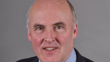 NNDC leader Tom FitzPatrick is warning residents of con artists. Pic: Norfolk Conservatives.