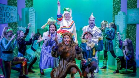 Fun from the successful Wizard of Oz panto at Sheringham Little Theatre. Picture: Matt Coomber
