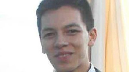 About 500 mourners attended Ian Tang's funeral in North Walsham. Picture: Norfolk Police