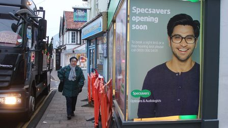 Specsavers opening in Sheringham. Picture: Karen Bethell