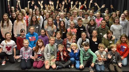Youngsters take to the stage at Sheringham Little Theatre at auditions for the venue's production of