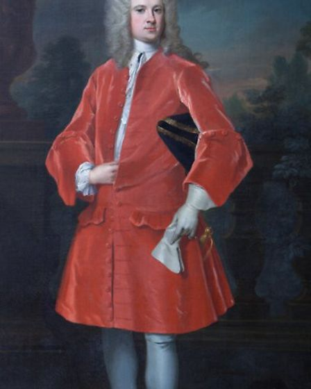Sir William Harbord. Image: 1729 portraint by William Aikman held by the National Trust at Blicklin