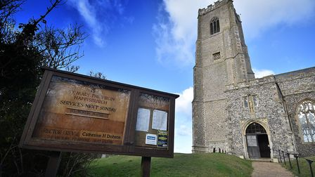 Happisburgh, nominated as Village of the Year. Happisburgh Church.Picture: ANTONY KELLY