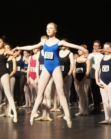 Young dancers have been encouraged to audition for a English Youth Ballet production of in Cinderell