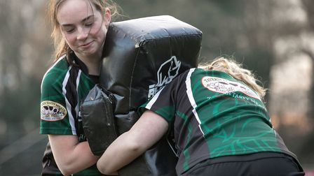 North Walsham are staging a Warriors Girls' Camp. Picture: Hywel Jones