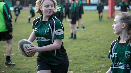 North Walsham Rugby Club will soon be running girls' teams at under-13 and under-15 level. Picture: