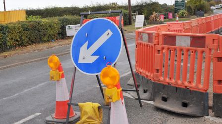 Roads and pavements around Cromer are facing roadworks this week. Picture: SARAH LUCY BROWN