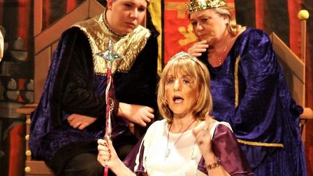 Sheilah Olley, the 'Norfolk Fairy', is a regular favourite at Mundesley's annual pantomime. Picture:
